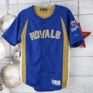 MLB Kansas City Royals Baseball Jersey Blue